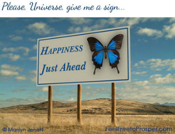 Happiness Just Ahead